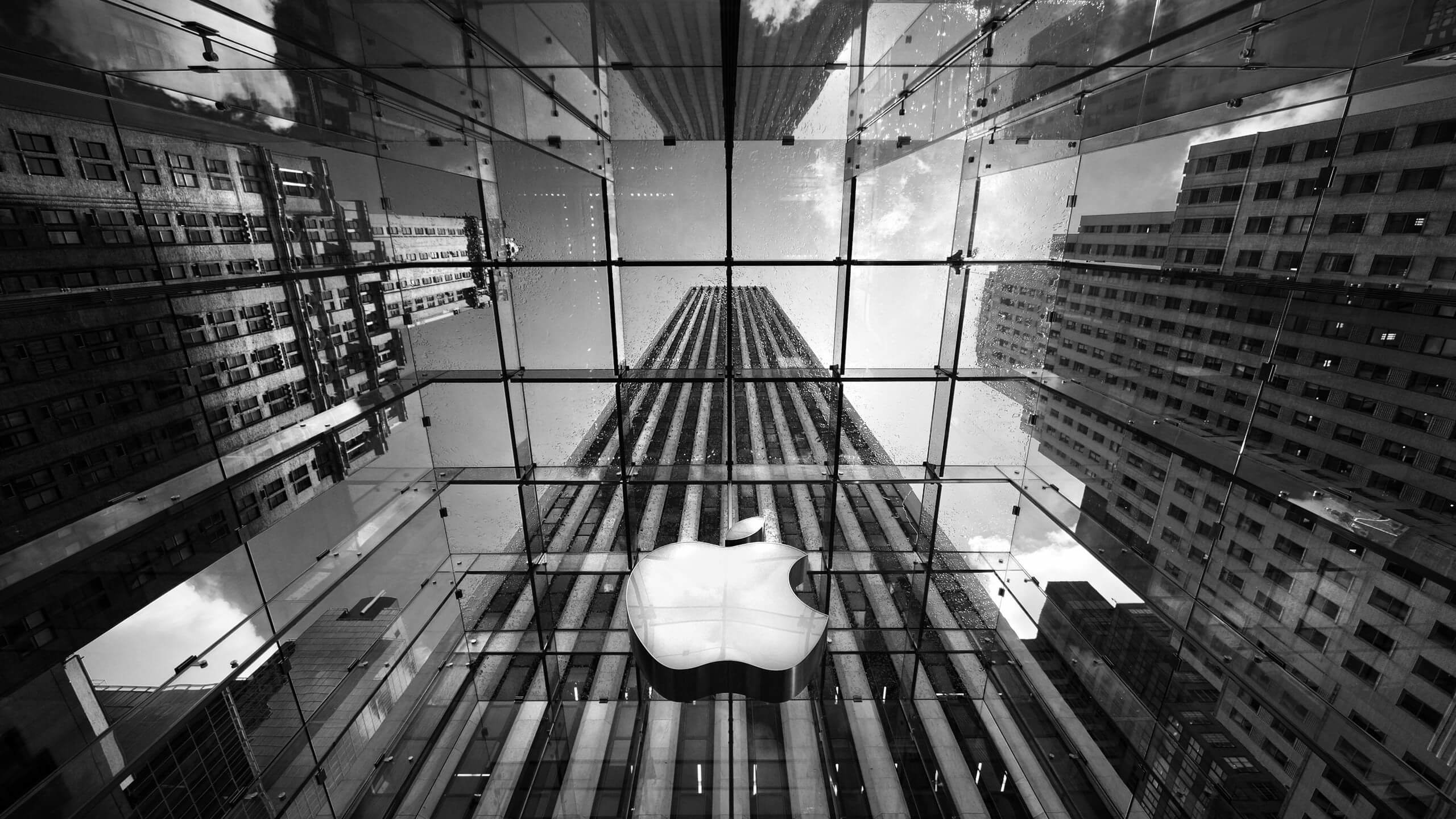 Apple Store, Fifth Avenue, New York City Wallpaper for Desktop 2560x1440