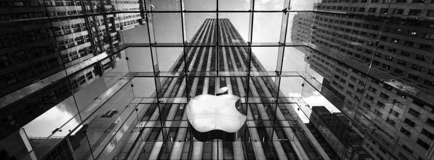 Apple Store, Fifth Avenue, New York City Wallpaper for Social Media Facebook Cover