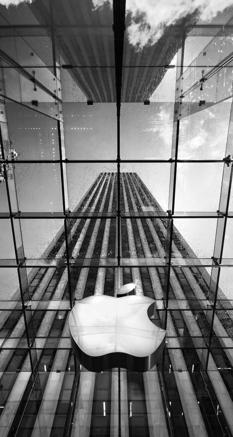Apple Store, Fifth Avenue, New York City Wallpaper for Apple iPhone 5 / 5s