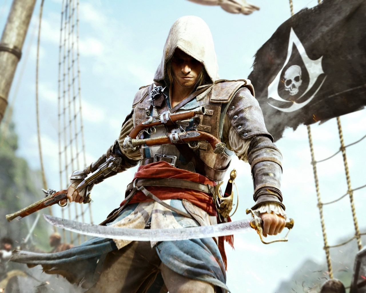 Assassin's Creed IV: Black Flag Wallpaper for Desktop 1280x1024