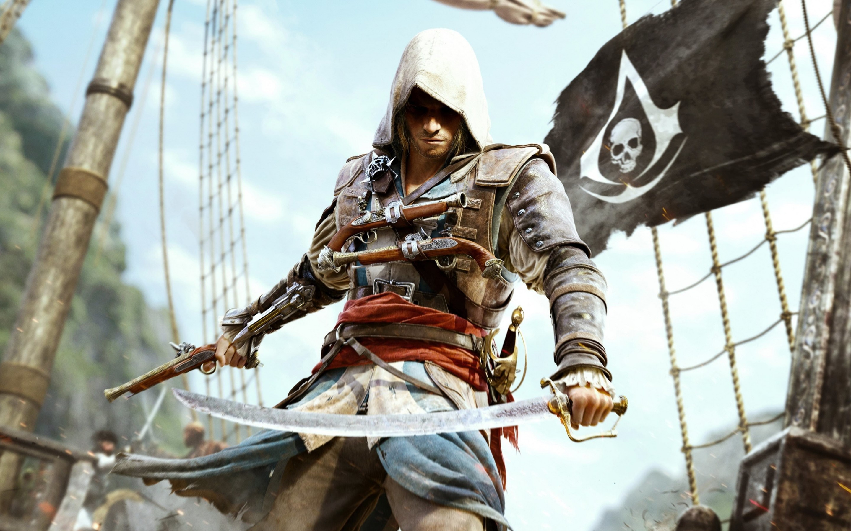 Assassin's Creed IV: Black Flag Wallpaper for Desktop 2880x1800