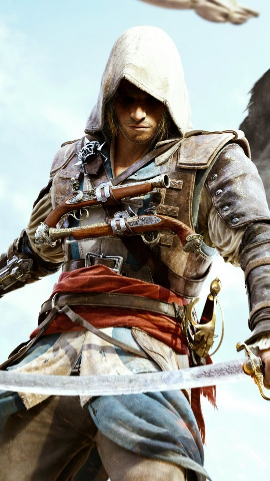 Assassin's Creed IV: Black Flag Wallpaper for SAMSUNG Galaxy S4 Mini