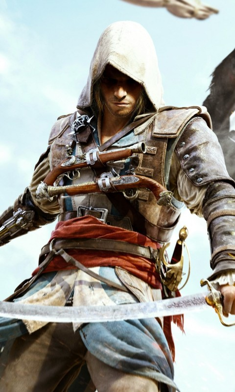 Assassin's Creed IV: Black Flag Wallpaper for HTC Desire HD