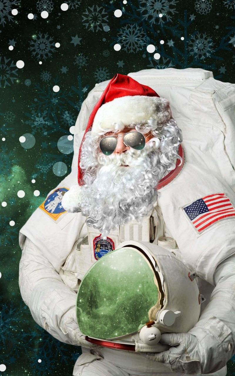 Astro Santa Wallpaper for Amazon Kindle Fire HD