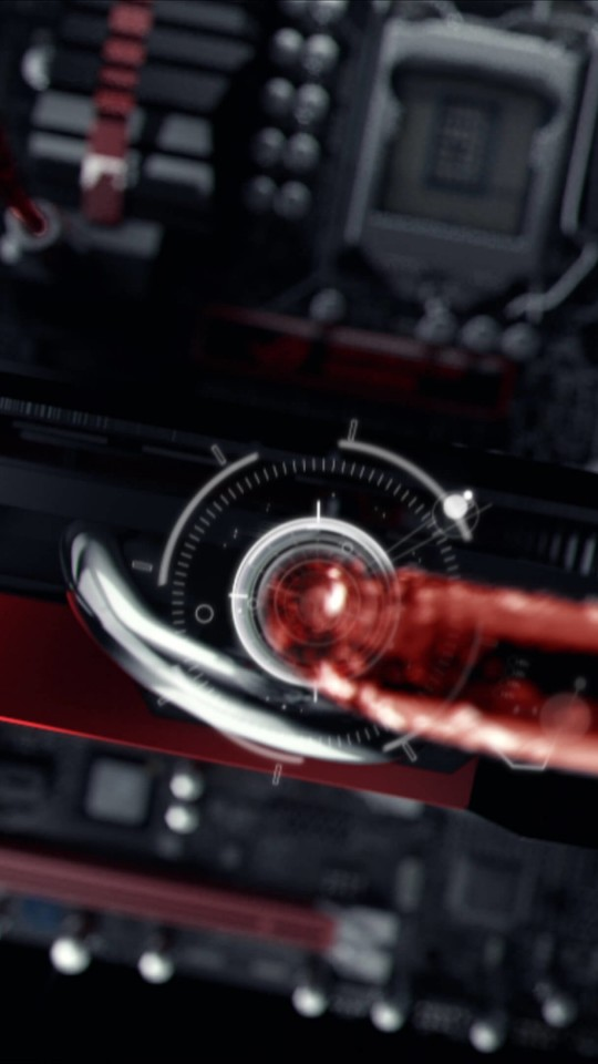 ASUS ROG Poseidon Liquid Cooling Wallpaper for SAMSUNG Galaxy S4 Mini
