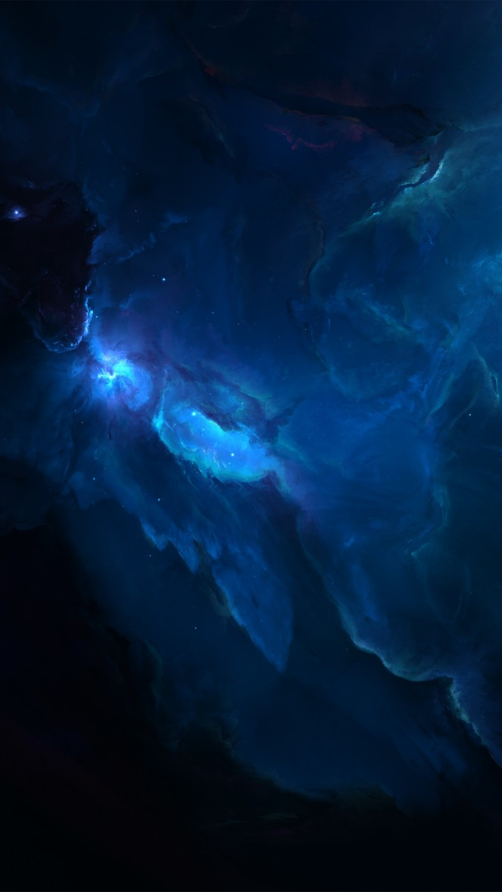 Atlantis Labyrinth Nebula Wallpaper for HTC One X