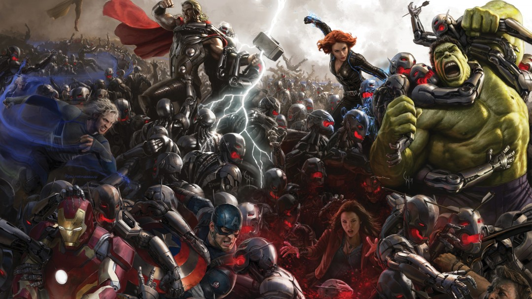 Avengers Age Of Ultron Concept Art Wallpaper for Social Media Google Plus Cover