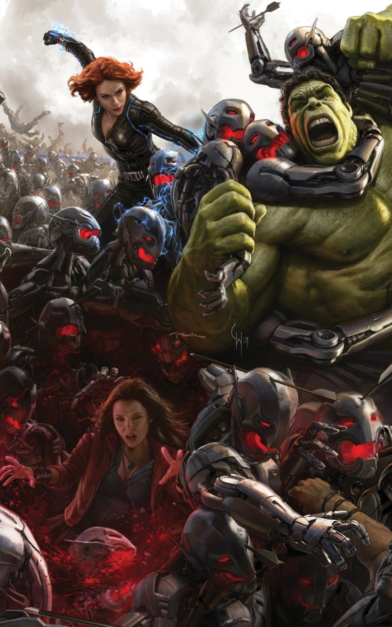 Avengers Age Of Ultron Concept Art Wallpaper for Amazon Kindle Fire HD