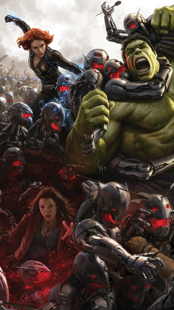 Avengers Age Of Ultron Concept Art Wallpaper for Xiaomi Redmi 1S