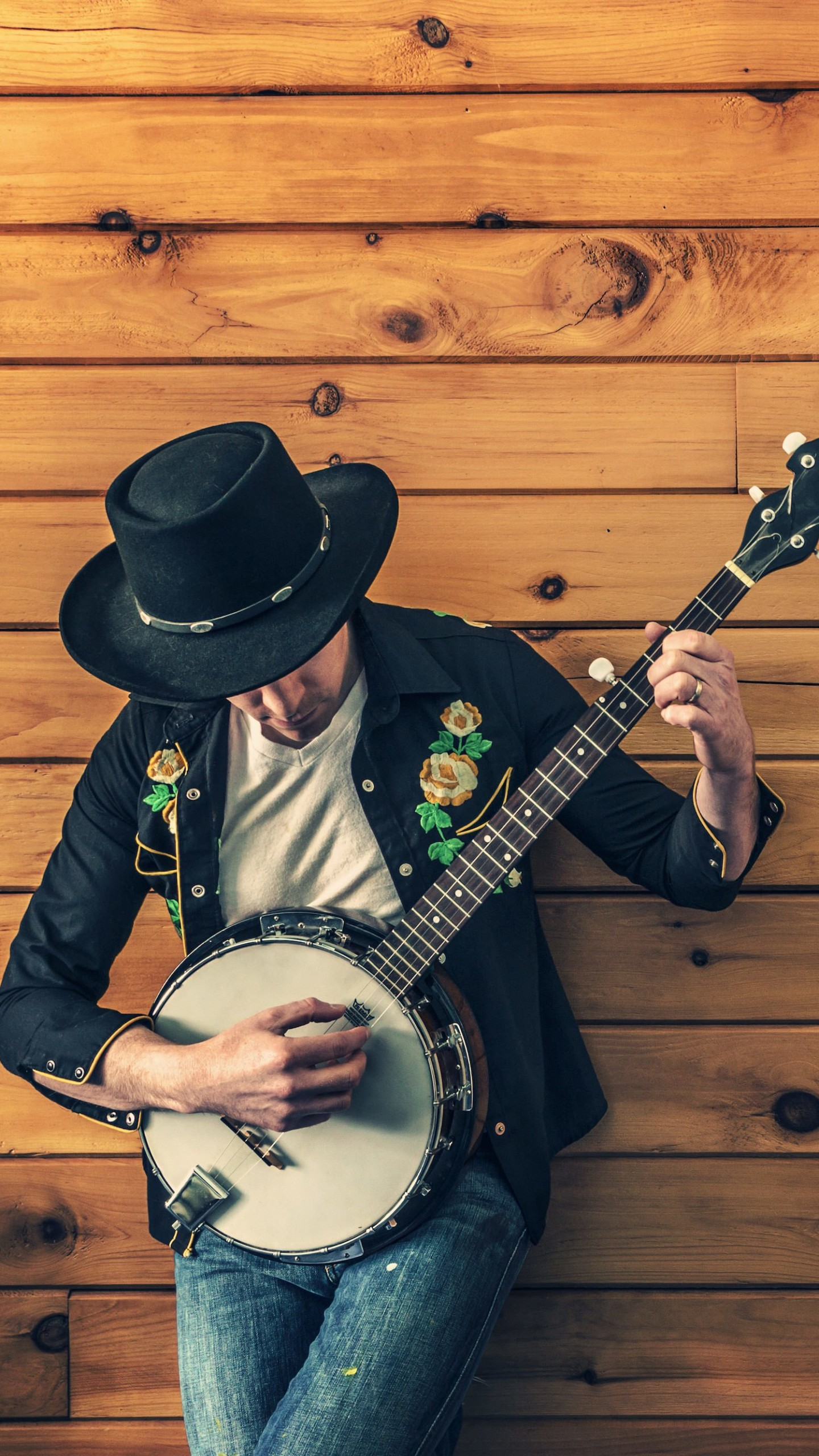 Banjo Player Wallpaper for Google Nexus 6P