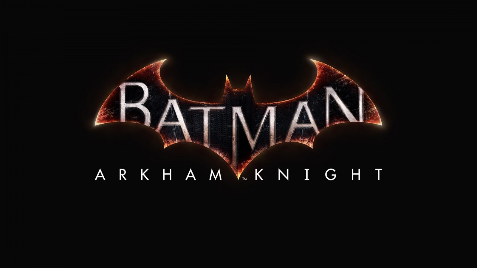 Batman: Arkham Knight Logo Wallpaper for Desktop 1600x900