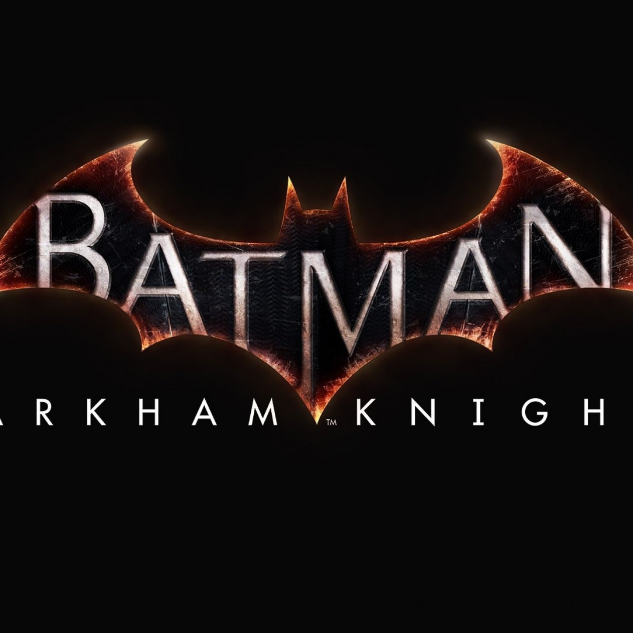 Batman: Arkham Knight Logo Wallpaper for Apple iPad mini