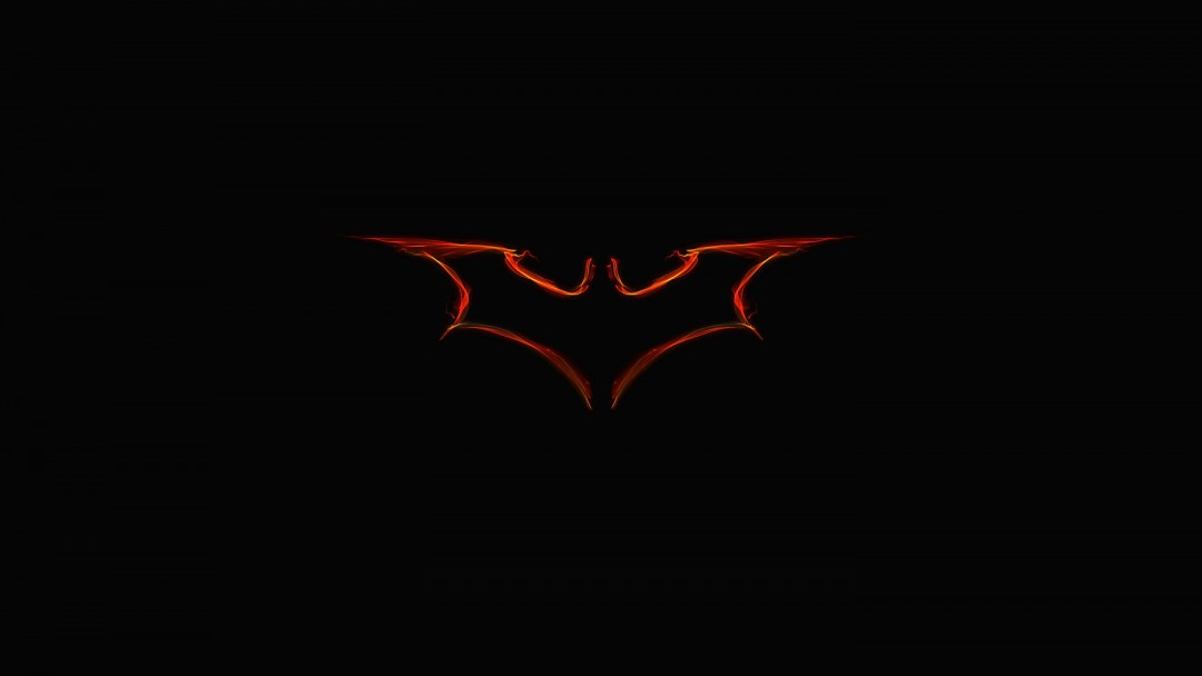 Batman Light Painting Logo Wallpaper for Social Media Google Plus Cover