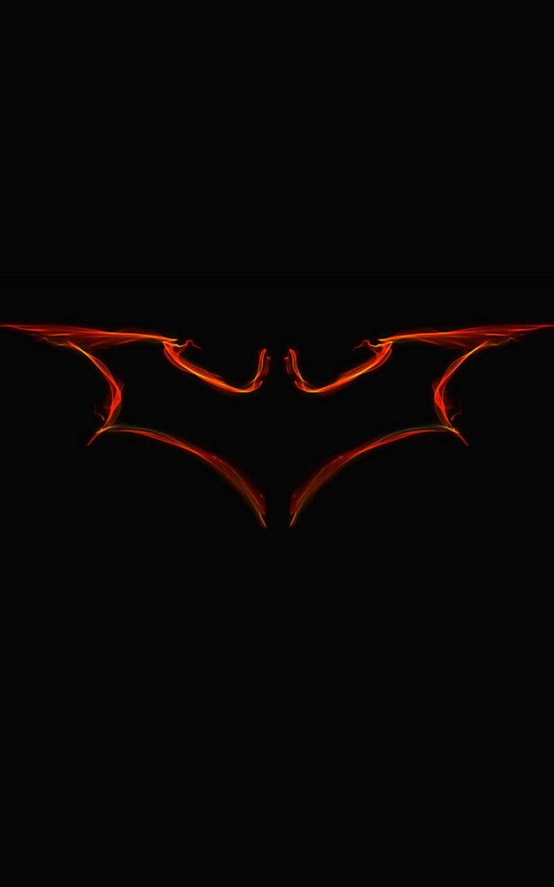 Batman Light Painting Logo Wallpaper for Amazon Kindle Fire HD