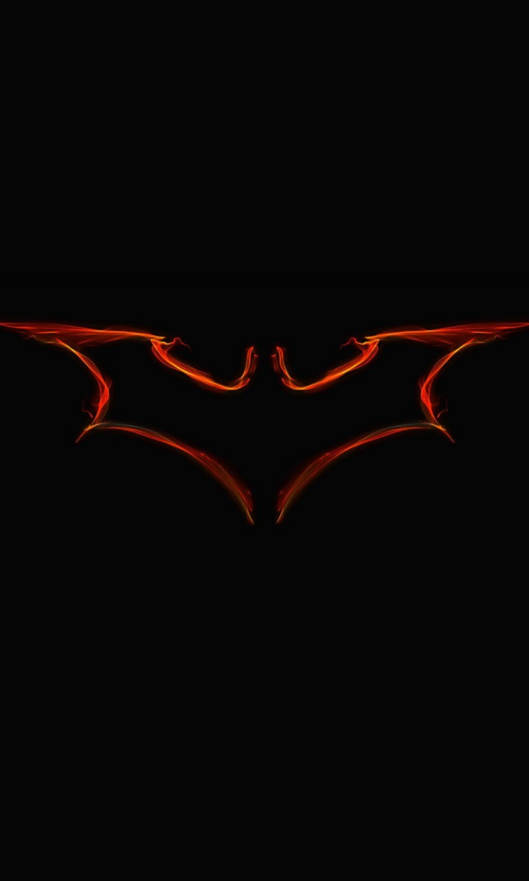 Batman Light Painting Logo Wallpaper for Google Nexus 4