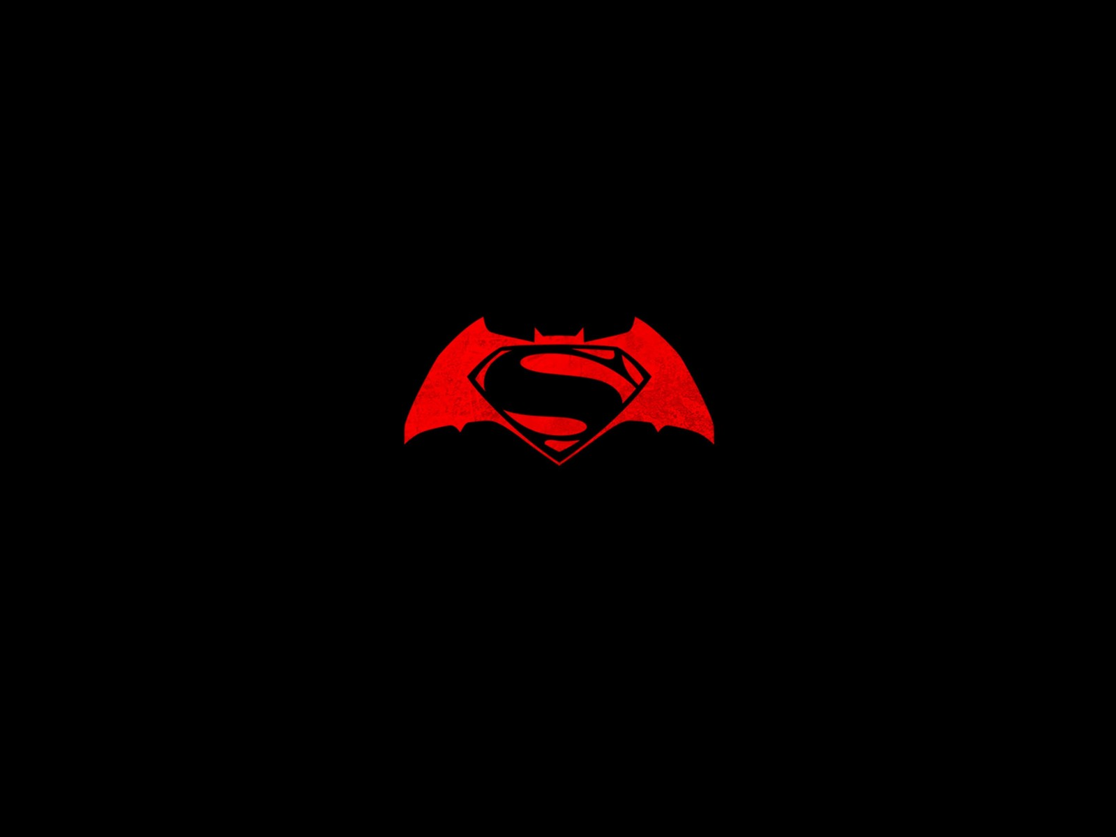Batman v Superman logo Wallpaper for Desktop 1600x1200