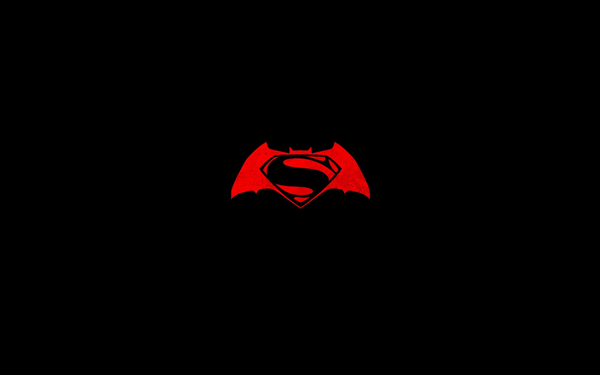 Batman v Superman logo Wallpaper for Desktop 1920x1200