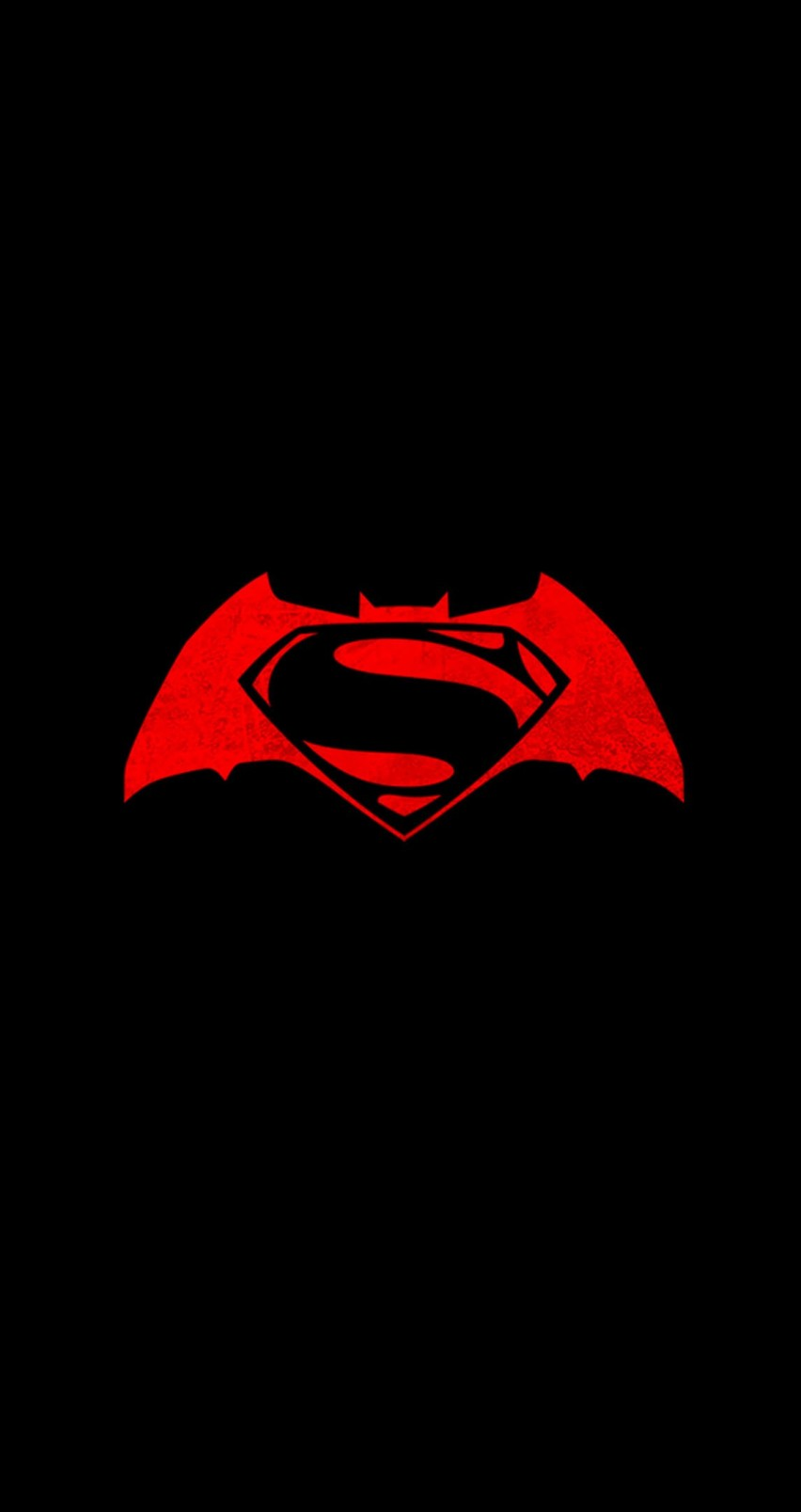 Batman v Superman logo Wallpaper for Apple iPhone 6 / 6s