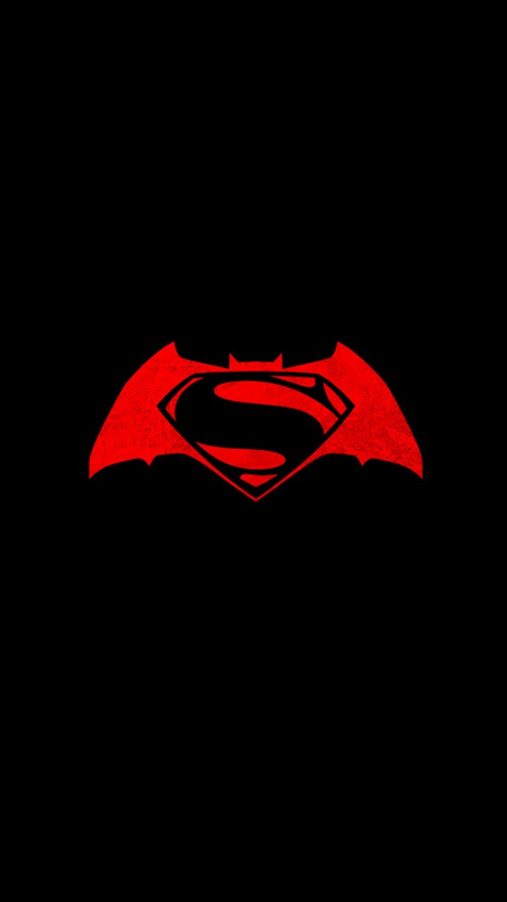 Batman v Superman logo Wallpaper for Lenovo A6000