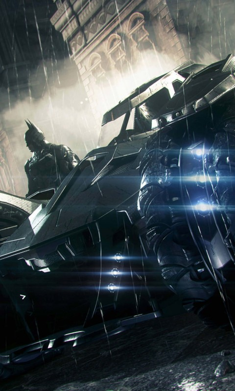 Batmobile - Batman Arkham Knight Wallpaper for HTC Desire HD