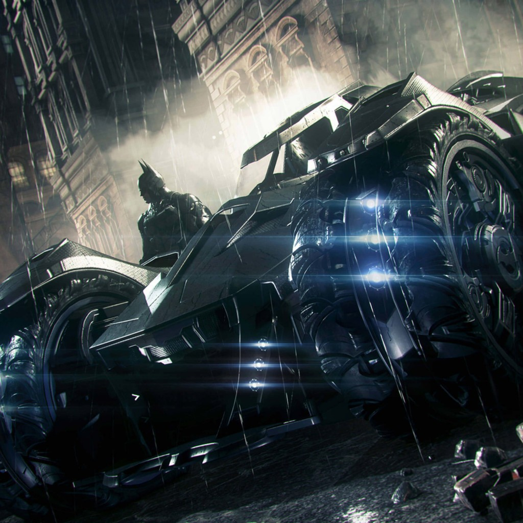 Batmobile - Batman Arkham Knight Wallpaper for Apple iPad 2