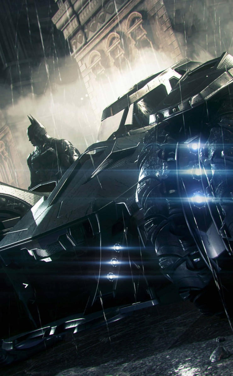 Batmobile - Batman Arkham Knight Wallpaper for Apple iPhone 4 / 4s