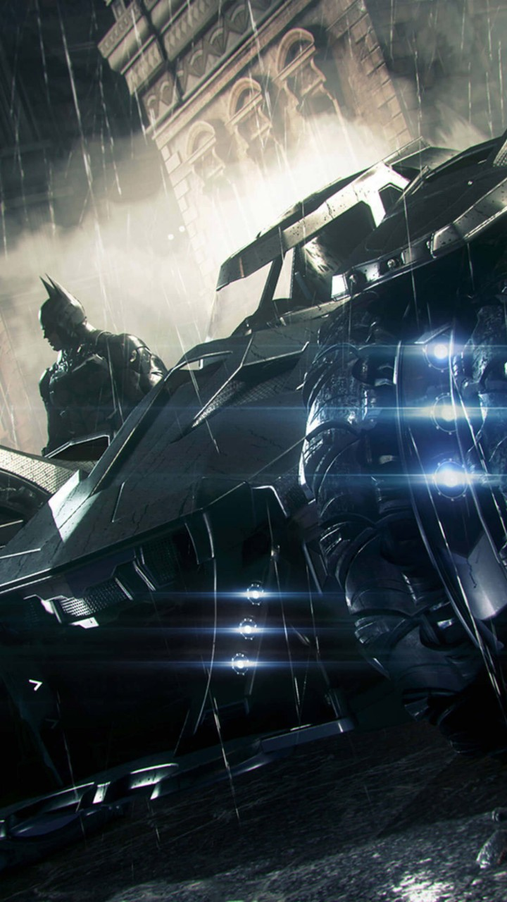 Batmobile - Batman Arkham Knight Wallpaper for Xiaomi Redmi 1S