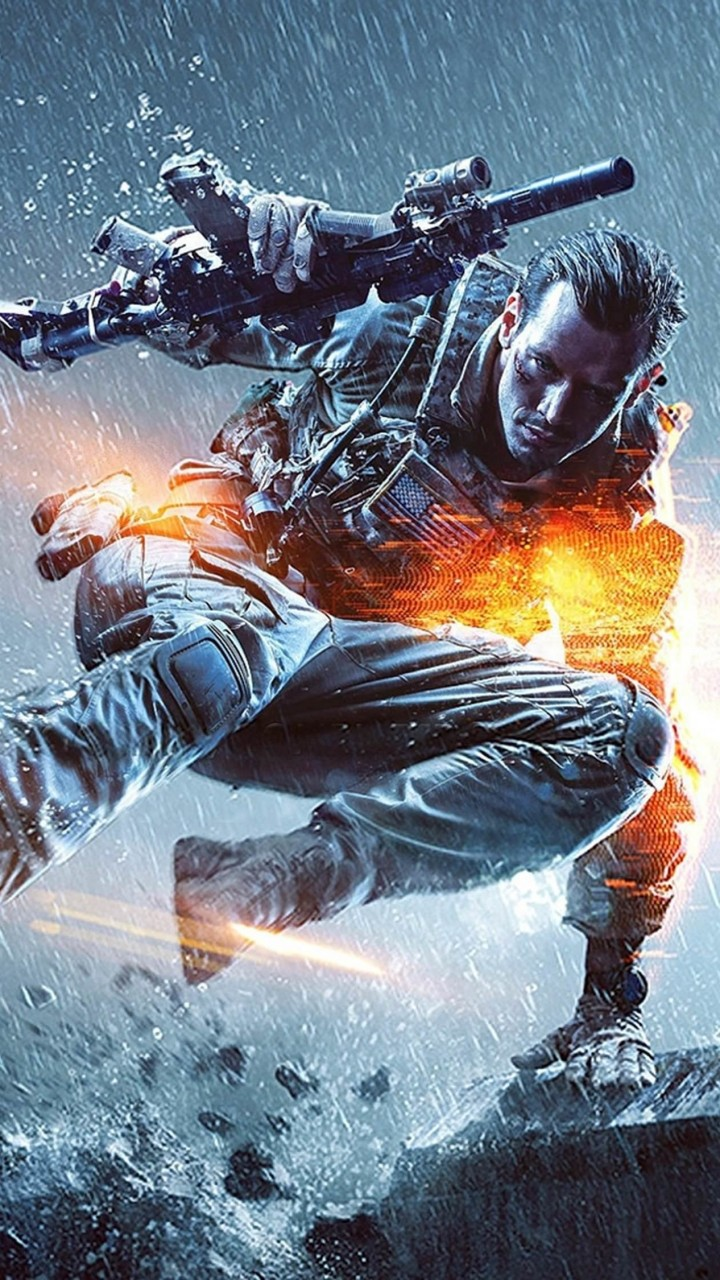 Battlefield Soldier Wallpaper for Xiaomi Redmi 2