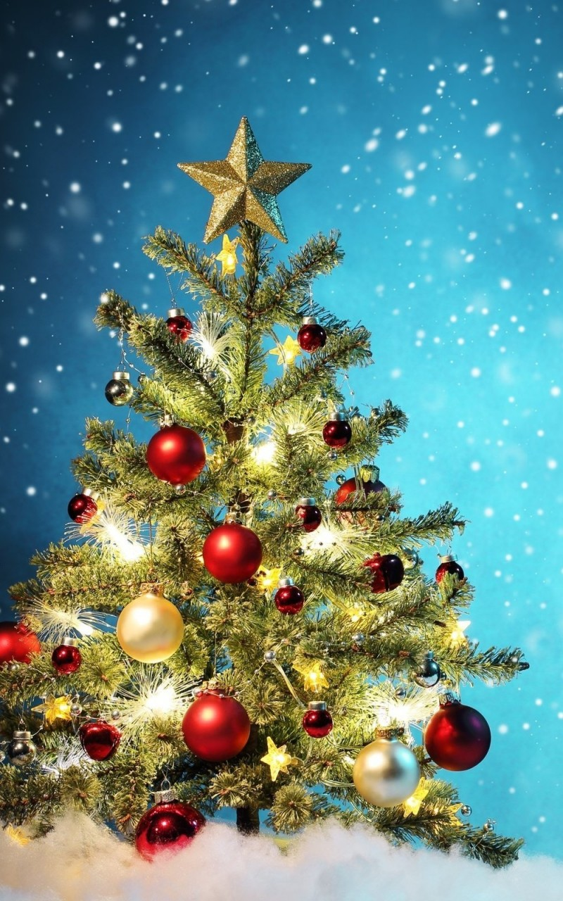 Beautiful Christmas Tree Wallpaper for Amazon Kindle Fire HD