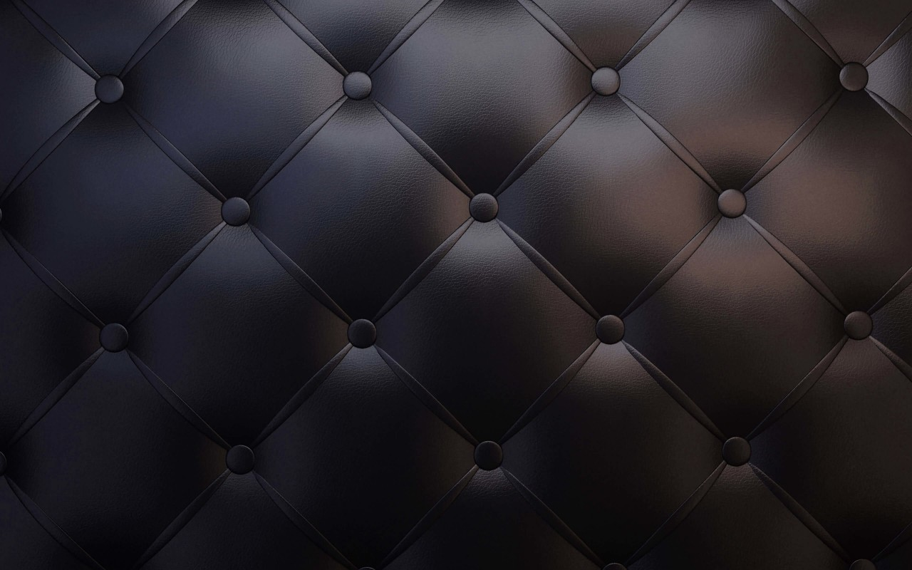 Black Leather Vintage Sofa Wallpaper for Desktop 1280x800