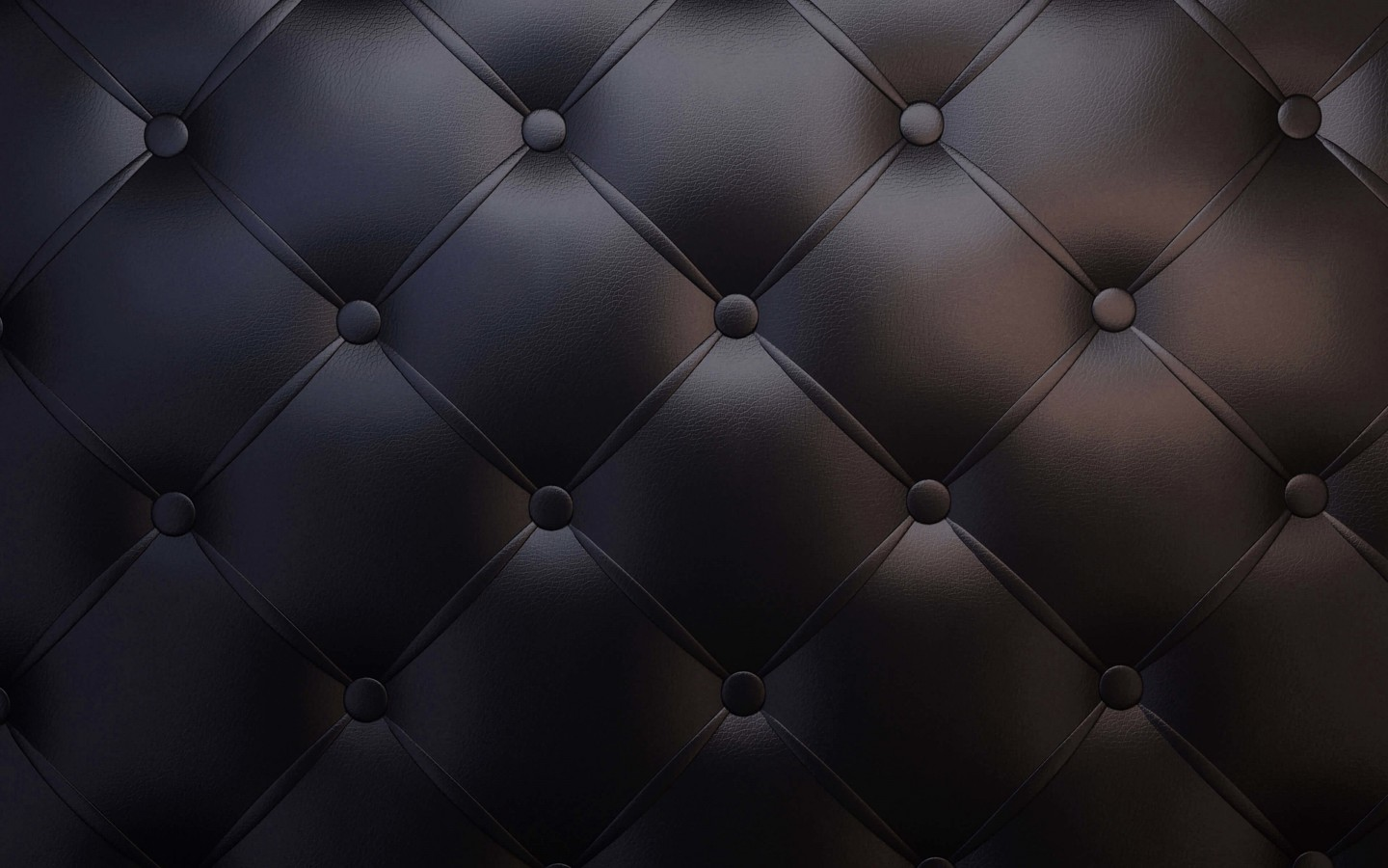 Black Leather Vintage Sofa Wallpaper for Desktop 1440x900