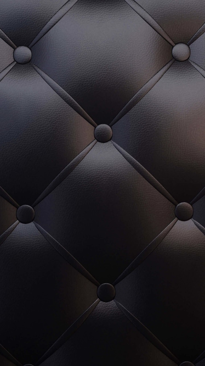 Black Leather Vintage Sofa Wallpaper for HTC One X