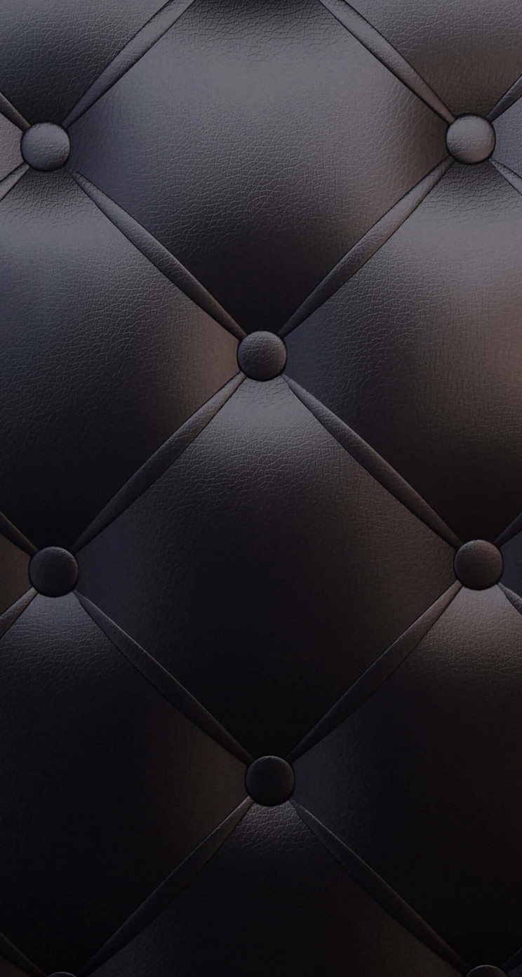 Black Leather Vintage Sofa Wallpaper for Apple iPhone 5 / 5s