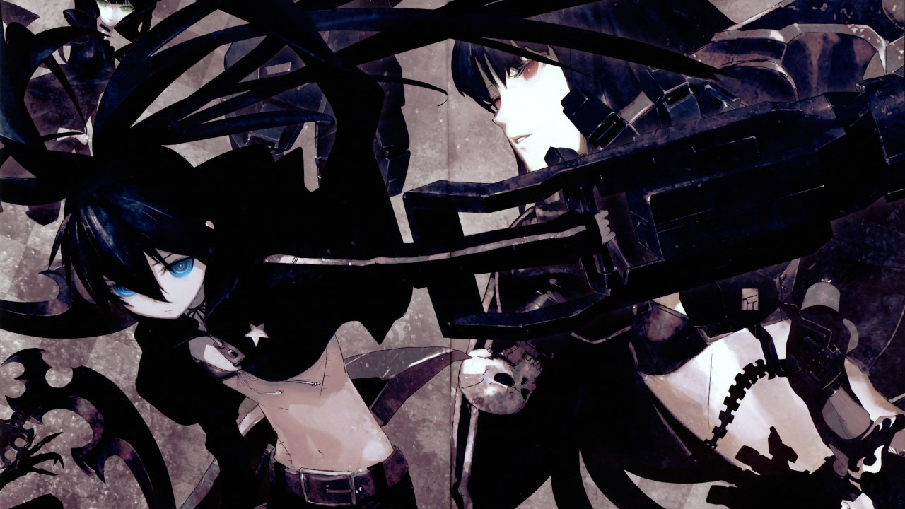Black Rock Shooter Wallpaper for Desktop 1280x720