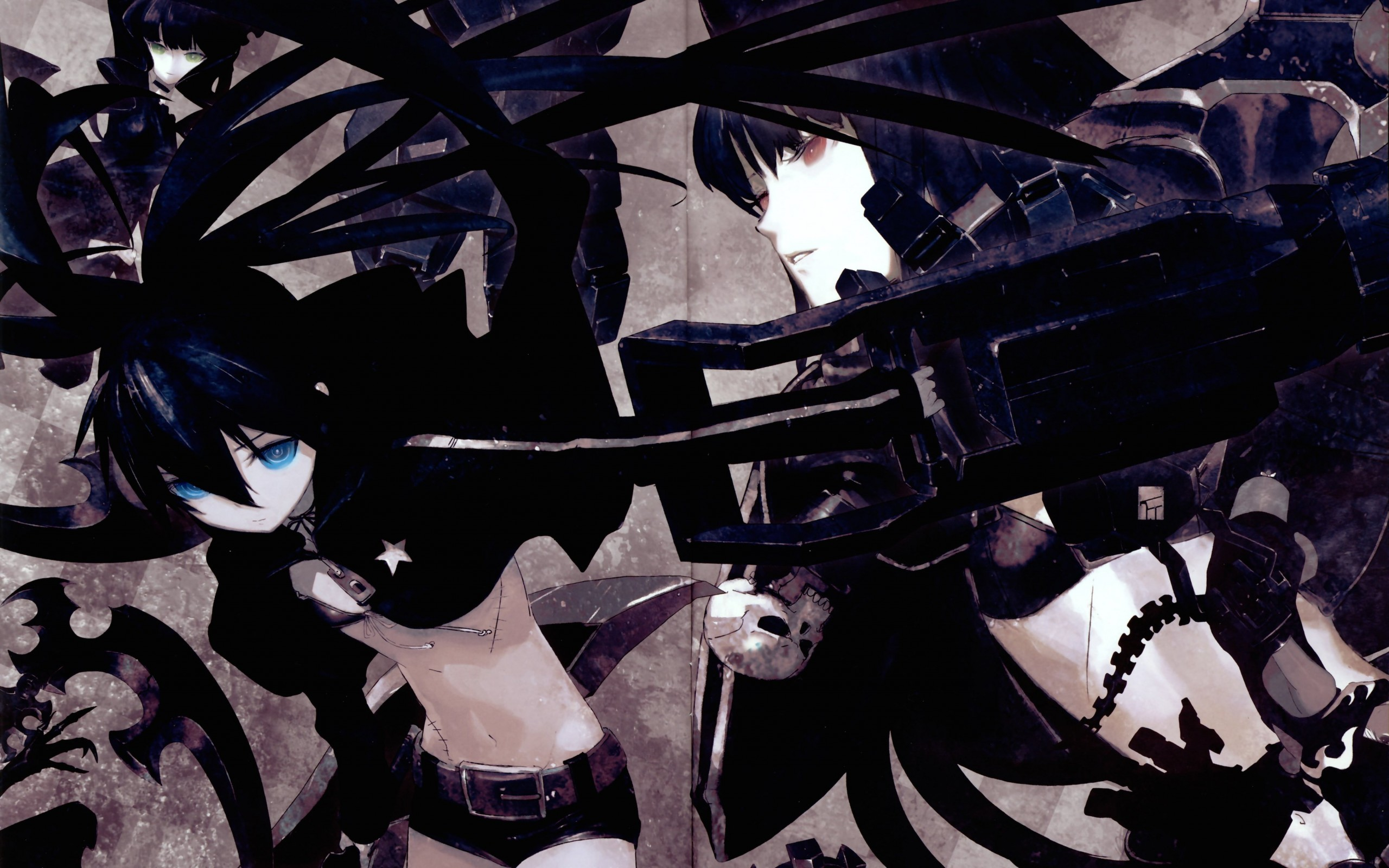 Black Rock Shooter Wallpaper for Desktop 2560x1600
