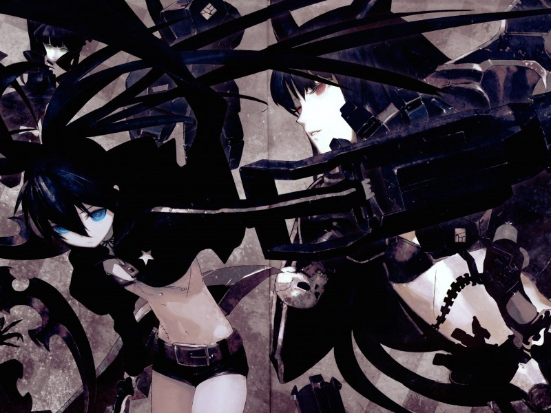 Black Rock Shooter Wallpaper for Desktop 800x600