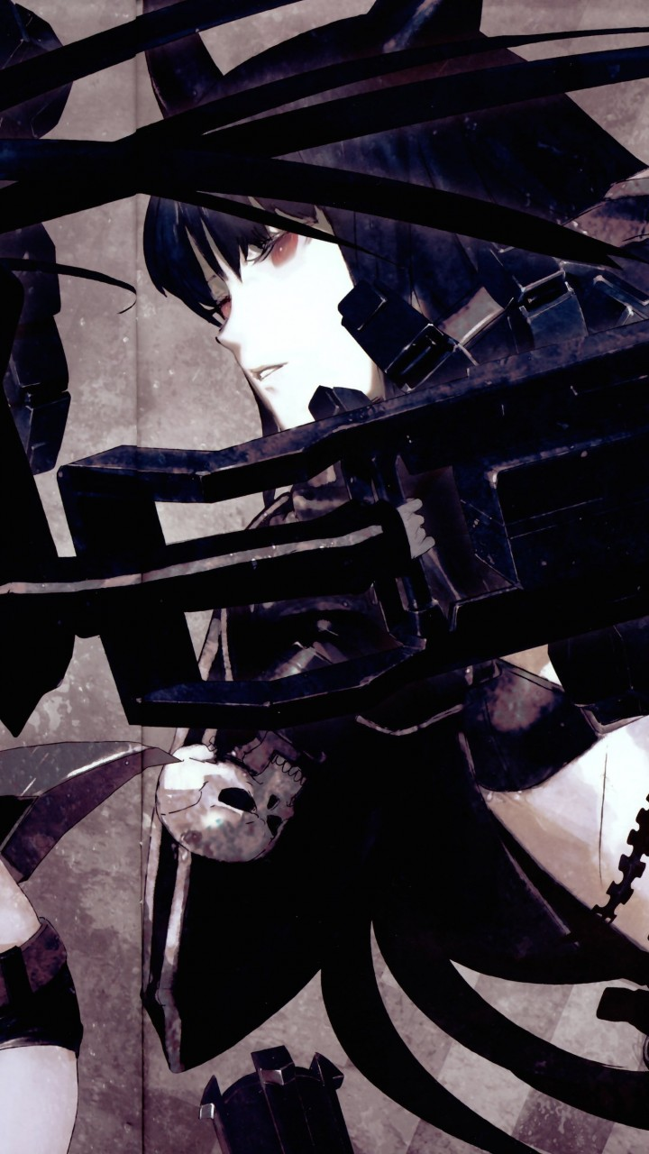 Black Rock Shooter Wallpaper for Motorola Moto G