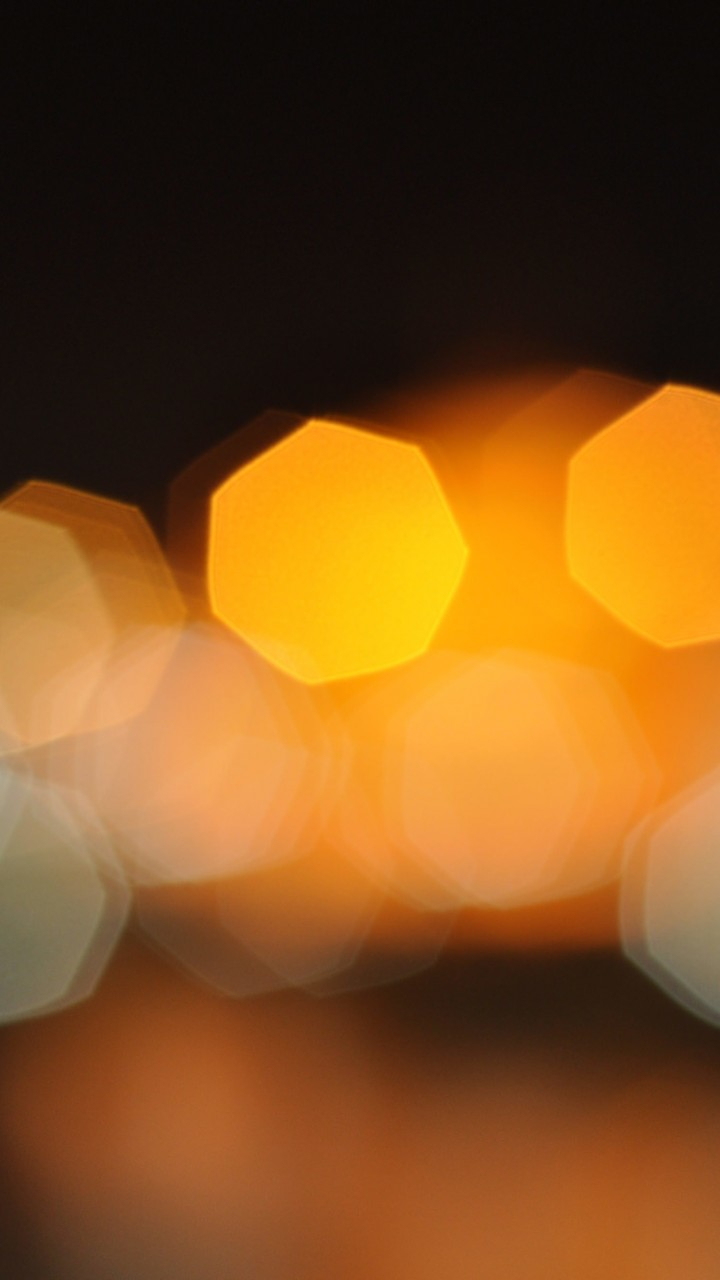 Blurred City Lights Wallpaper for SAMSUNG Galaxy S3