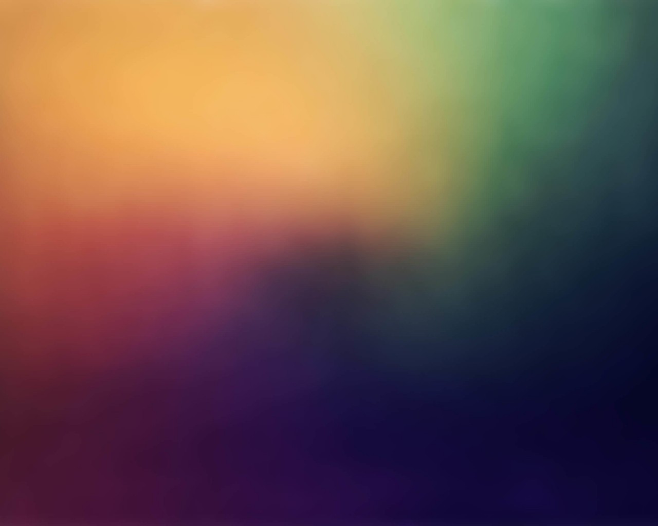 Blurred Rainbow Wallpaper for Desktop 1280x1024