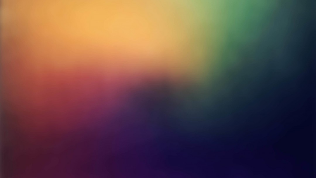 Blurred Rainbow Wallpaper for Social Media Google Plus Cover