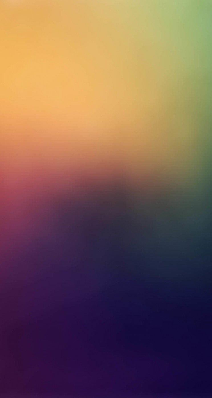 Blurred Rainbow Wallpaper for Apple iPhone 5 / 5s