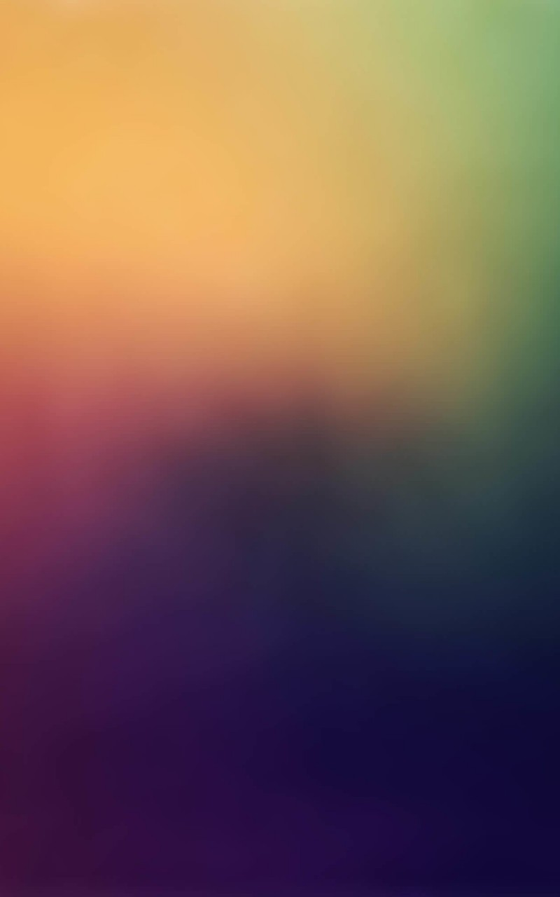 Blurred Rainbow Wallpaper for Amazon Kindle Fire HD