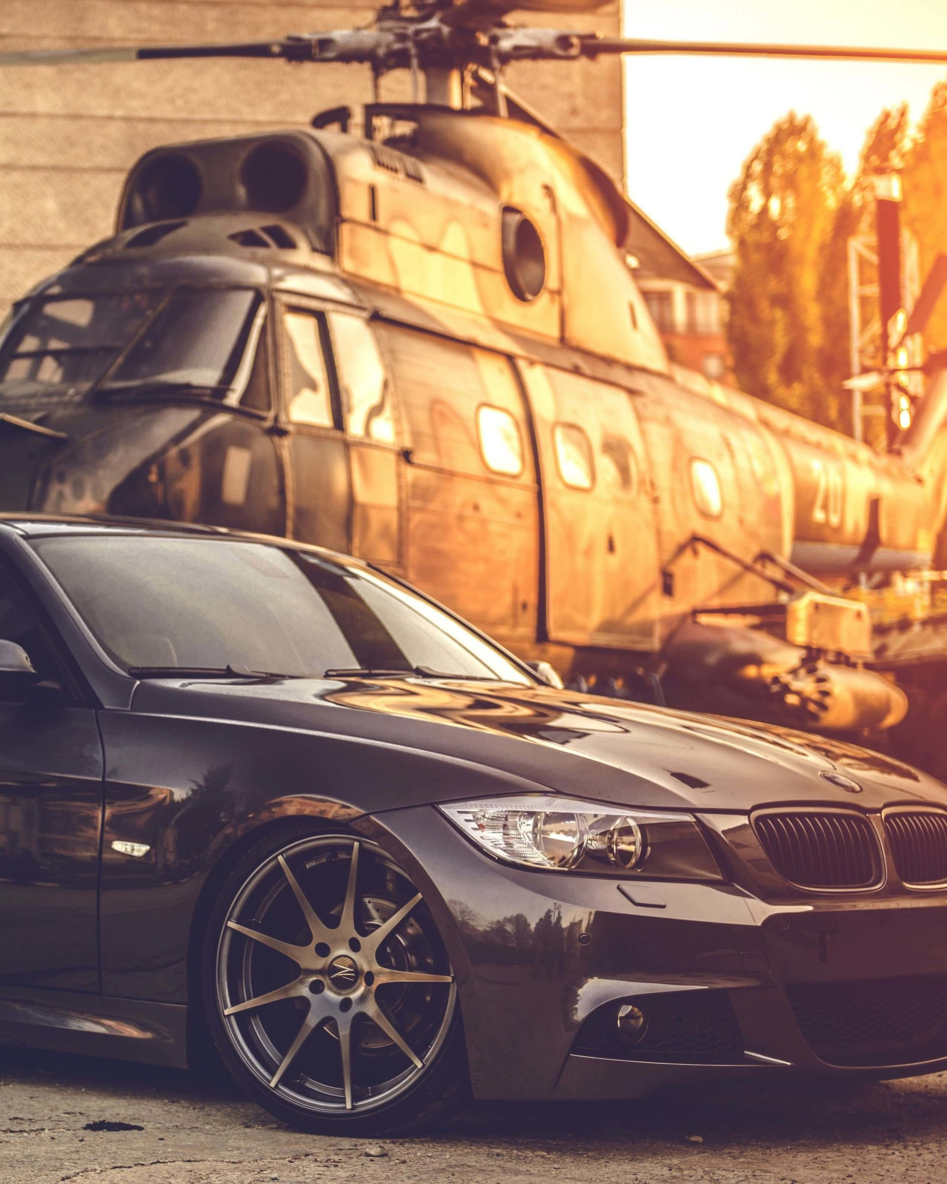 BMW E90 on Z-Performance Wheels Wallpaper for Google Nexus 7