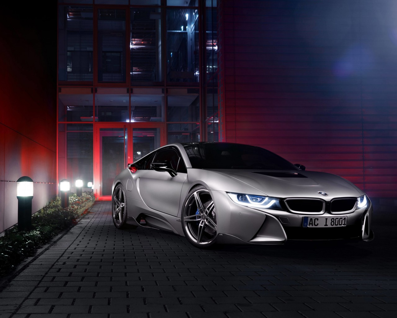 Download Bmw I8 Designed By Ac Schnitzer Hd Wallpaper For 1280 X 1024 Hdwallpapers Net