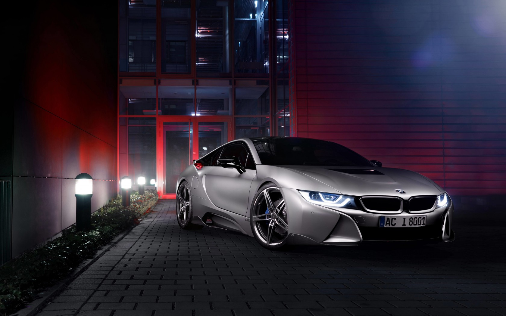 BMW i8 designed by AC Schnitzer Wallpaper for Desktop 1680x1050