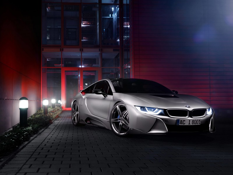 BMW i8 designed by AC Schnitzer Wallpaper for Desktop 800x600