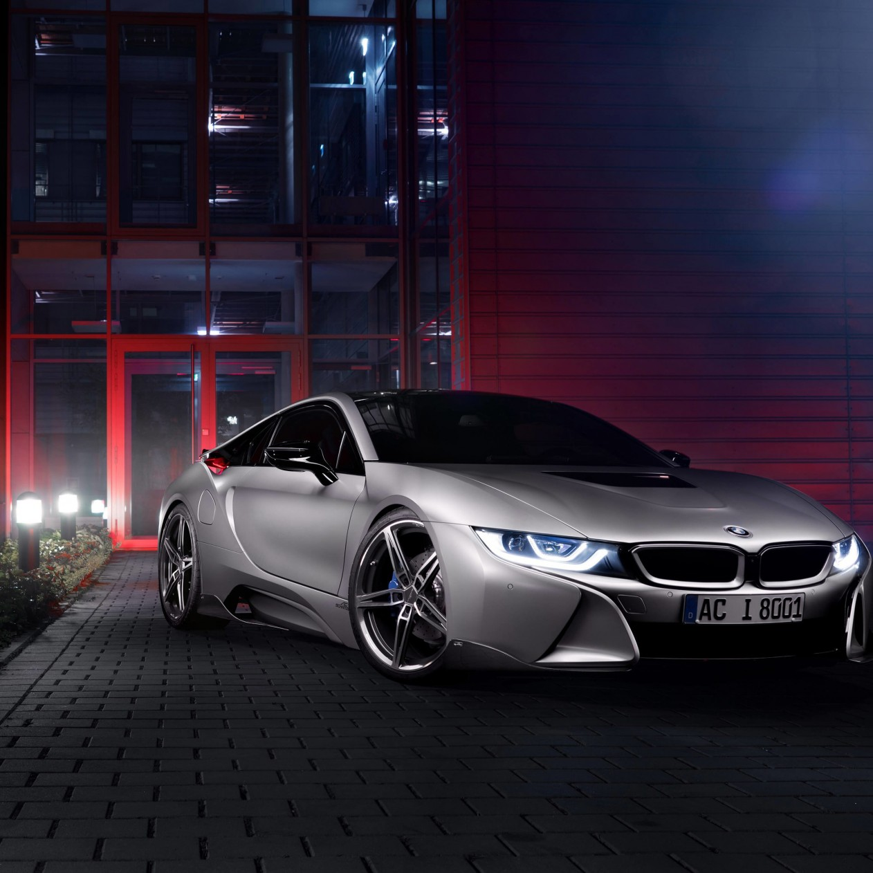 BMW i8 designed by AC Schnitzer Wallpaper for Apple iPad mini