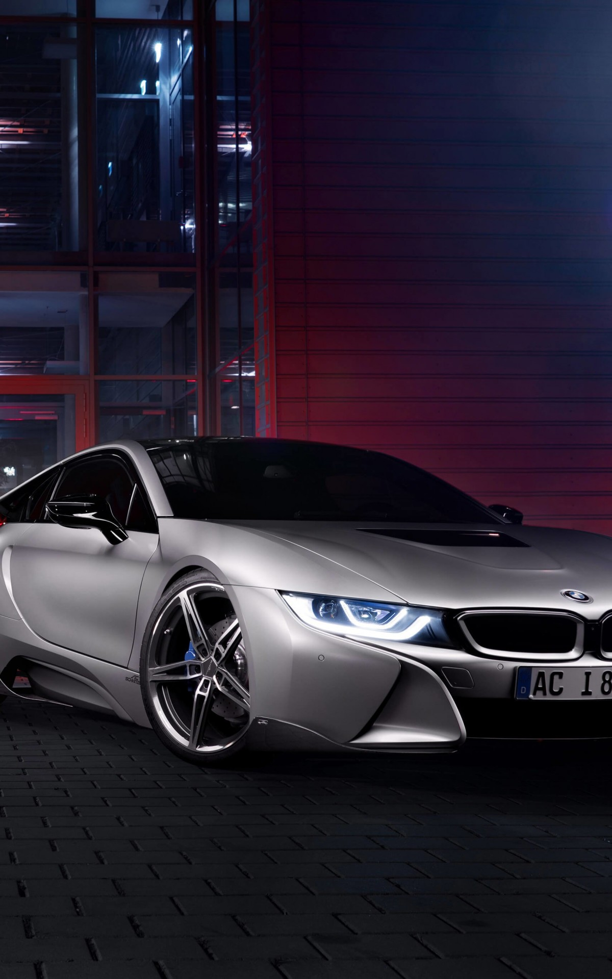 BMW i8 designed by AC Schnitzer Wallpaper for Amazon Kindle Fire HDX
