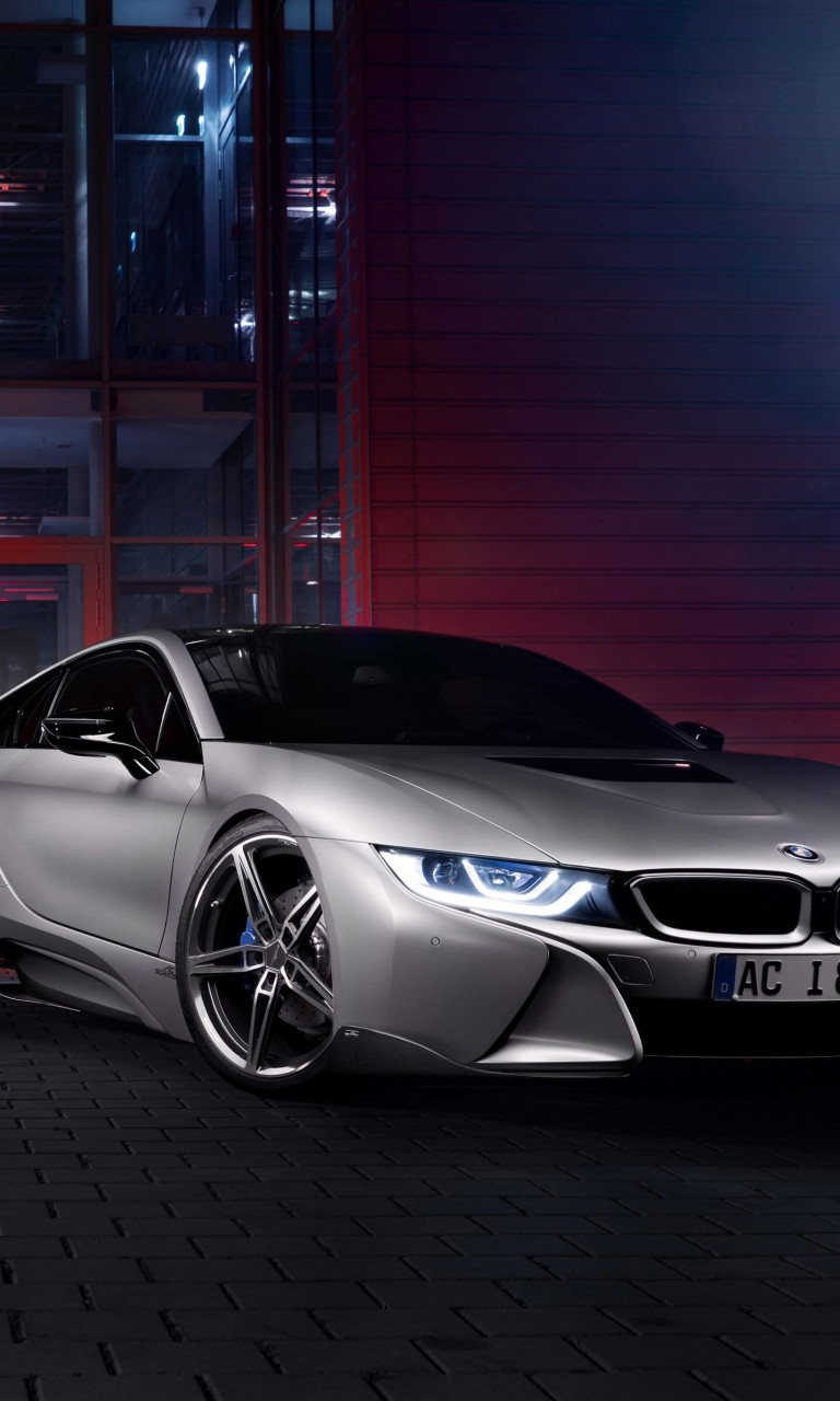 Download BMW i8 designed by AC Schnitzer HD wallpaper for Nexus 4 - HDwallpapers.net