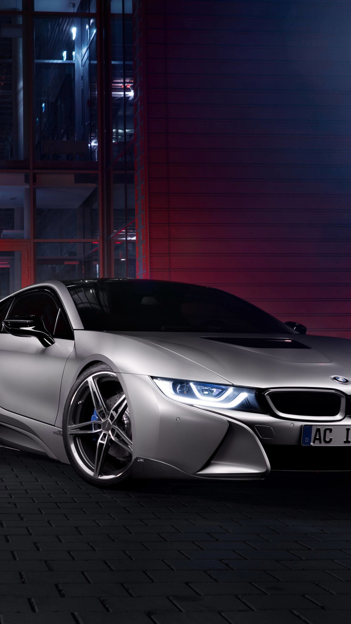BMW i8 designed by AC Schnitzer Wallpaper for SAMSUNG Galaxy S6